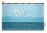 Mount Redoubt Across Cook Inlet From Ninilchik-ak   Carry-all Pouch