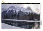 Mountain Sunset Christmas Canmore, Alberta Carry-all Pouch