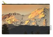 Mt. Shasta Sunset Panorama Carry-all Pouch