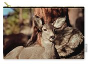 Mule Deer Doe Carry-all Pouch