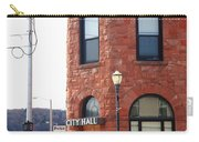 Munising Michigan - City Hall Carry-all Pouch