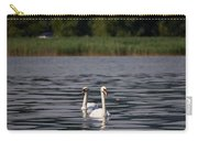 Mute Swans. Lago Di Iseo Carry-all Pouch