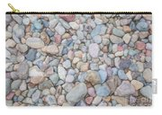 Natural Rock Pebble Backgorund Carry-all Pouch