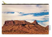 Navajo Nation Series Along 87 And 15 Carry-all Pouch