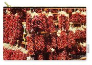 New Mexico Red Chili Ristra And Gralic Carry-all Pouch