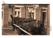 New Orleans - Bourbon Street Horse 3 Carry-all Pouch