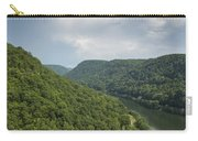 New River Scene 13 B Carry-all Pouch