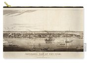 New York City, 1840 Carry-all Pouch