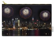 New York City Celebrates The 4th Carry-all Pouch by Susan Candelario