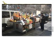 New York Street Vendor Carry-all Pouch by Frank Romeo