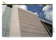 The Newseum Carry-all Pouch