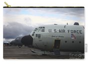 Nose Cone Detail On A Lc-130h Aircraft Carry-all Pouch