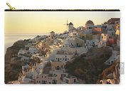 Oia At Sunset Santorini Cyclades Greece  Carry-all Pouch
