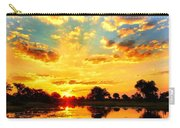 Okavango Delta Sunset Carry-all Pouch