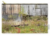 Old Barn In Fall Maine Carry-all Pouch by Keith Webber Jr