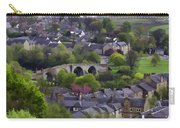 Old Stirling Bridge And Houses As Visible From Stirling Castle Carry-all Pouch