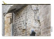 Old Town Street In Jerusalem Israel Carry-all Pouch
