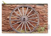Old Wagon Wheel 2 Carry-all Pouch