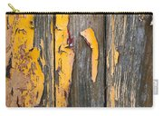 Old Wooden Background Carry-all Pouch by Carlos Caetano