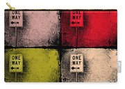 One Way Street Carry-all Pouch