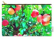 Orange Trees With Fruits On Plantation Carry-all Pouch