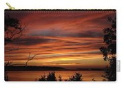 Outer Banks Sunset Over Bay And Colington Island Carry-all Pouch