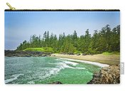 Pacific Ocean Coast On Vancouver Island Carry-all Pouch