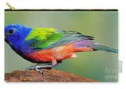Painted Bunting Passerina Ciris Carry-all Pouch