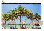 Palm Trees And Sea Carry-all Pouch