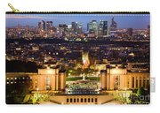 Paris Panorama France At Night Carry-all Pouch