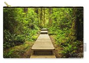 Path In Temperate Rainforest Carry-all Pouch