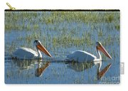Pelicans In Hayden Valley Carry-all Pouch