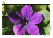 Petunia Hybrid From The Sparklers Mix Carry-all Pouch