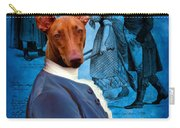 Pharaoh Hound Art Canvas Print Carry-all Pouch