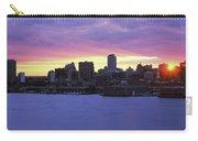 Philadelphia Skyline At Dusk Carry-all Pouch