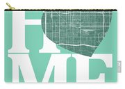 Phoenix Street Map Home Heart - Phoenix Arizona Road Map In A He Carry-all Pouch