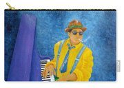 Piano Man Carry-all Pouch by Pamela Allegretto