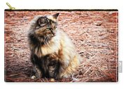 Pine Needle Kitty Carry-all Pouch