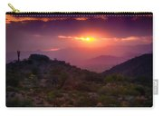Pink Desert Skies  Carry-all Pouch