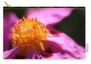 Pink Rockrose Carry-all Pouch