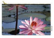 Pink Water Lily In The Spotlight Carry-all Pouch