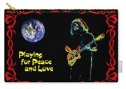 Playing For Peace And Love 1 Carry-all Pouch