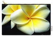 Plumerias Carry-all Pouch