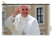 Pope Francisco Carry-all Pouch by Diane Greco-Lesser