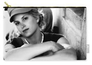 Portrait In Black And White Carry-all Pouch