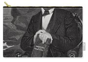 Portrait Of Abraham Lincoln Carry-all Pouch by Alonzo Chappel