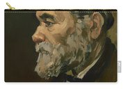 Portrait Of An Old Man Carry-all Pouch