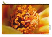 Portulaca In Orange Fading To Yellow Carry-all Pouch