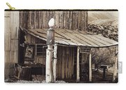 Post Office-gas Station Ghost Town Wagoner Arizona 1968 Carry-all Pouch