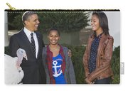 President Obama And Daughters Carry-all Pouch